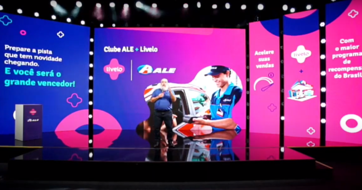 Livelo arrives at the ALE Gas Stations in a special event!