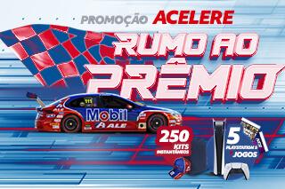 A Promoção Acelere Rumo ao Prêmio foi um sucesso!